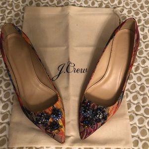 Stunning J. Crew Collection Kitten Heels Size 8.5